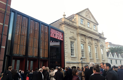Bristol Old Vic just before its grand unveiling