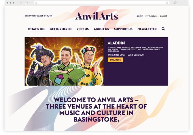 Anvil Arts homepage