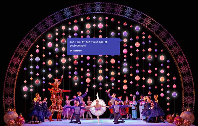 Scottish Ballet's Christmas Baubles campaign