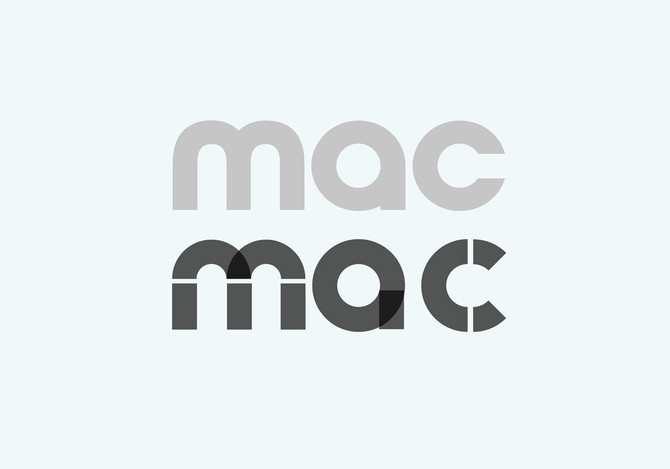 MAC logo – and deconstructed version