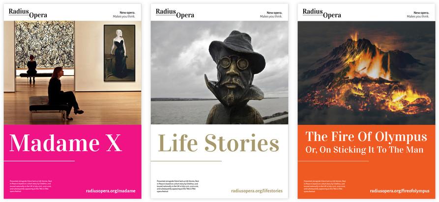 Radius Opera poster style